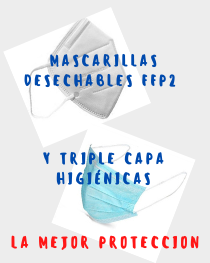 mascarillas desechables FFP2